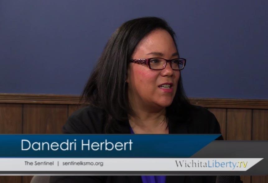 WichitaLiberty.TV: Danedri Herbert, Editor of The Sentinel