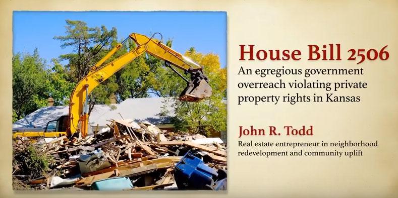 Property under attack in Kansas