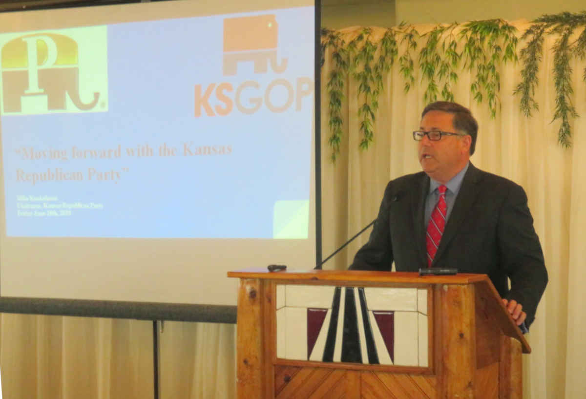 From Pachyderm: Mike Kuckelman, Kansas GOP Chair